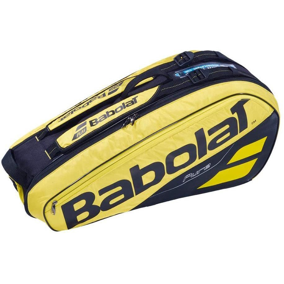Babolat Tennis Bag – 2019 Pure 6 Pack (Yellow & Black)