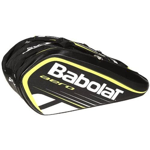 Babolat Tennis Bag – Aero 12-Pack (Black-Yellow)