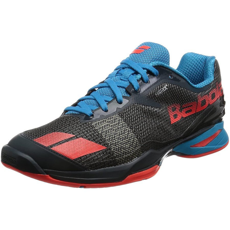 Babolat Tennis Shoes – Jet All Court for Men (black-blue-red)