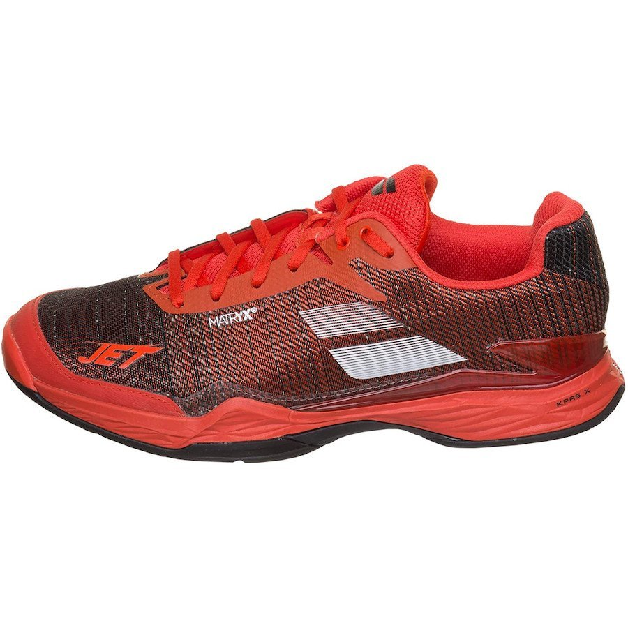 Babolat Tennis Shoes – Jet Mach II Clay for Men (red)