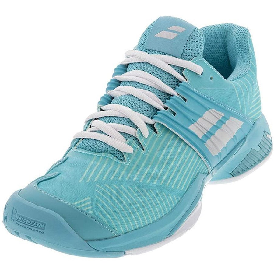 Babolat Tennis Shoes – Tennis Propulse Fury All Court for Women (Blue)