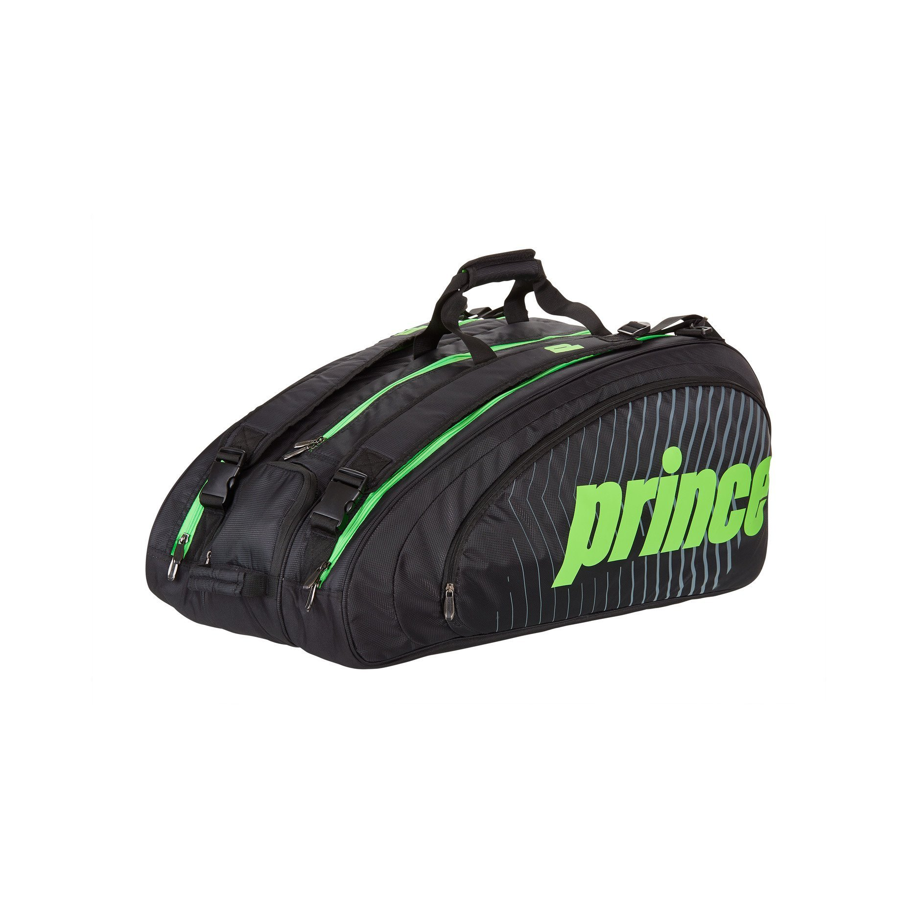 Prince Tennis Bag – Tour Challenger (Black & Green)