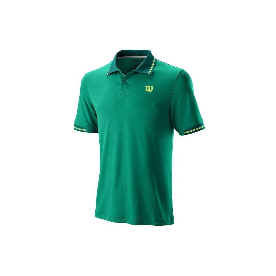Tennis Apparel (Men) – Wilson 2019 Star Tipped Polo
