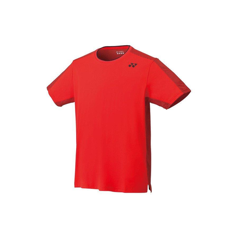 Tennis Apparel (Men) – Yonex 2019 Paris Collection Shirt (Fire-Red)