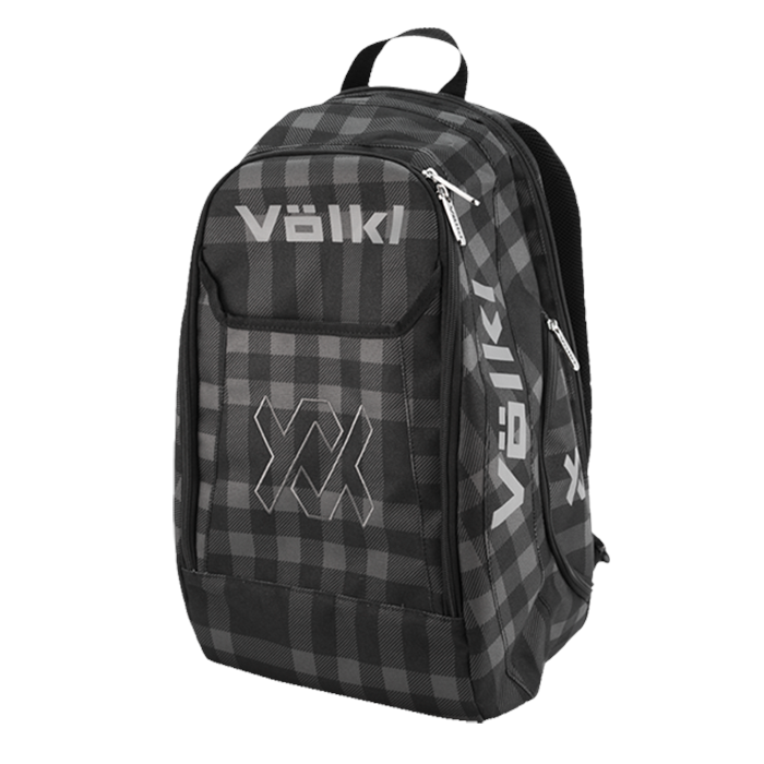 Volkl Tennis Backpack – TEAM BACKPACK BLACK & PLAID