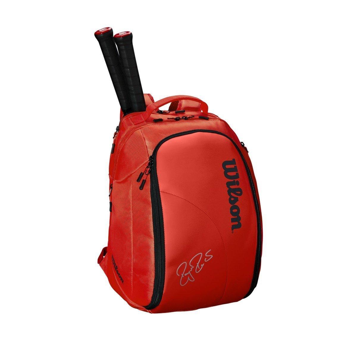 Wilson Tennis Backpack – 2018 Federer DNA Backpack (Infrared)