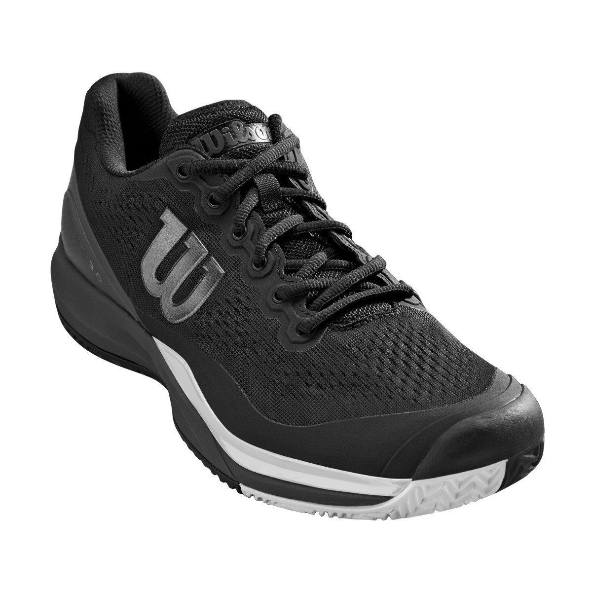 Wilson Tennis Shoes – 2019 Men's Rush Pro 3.0 (black)