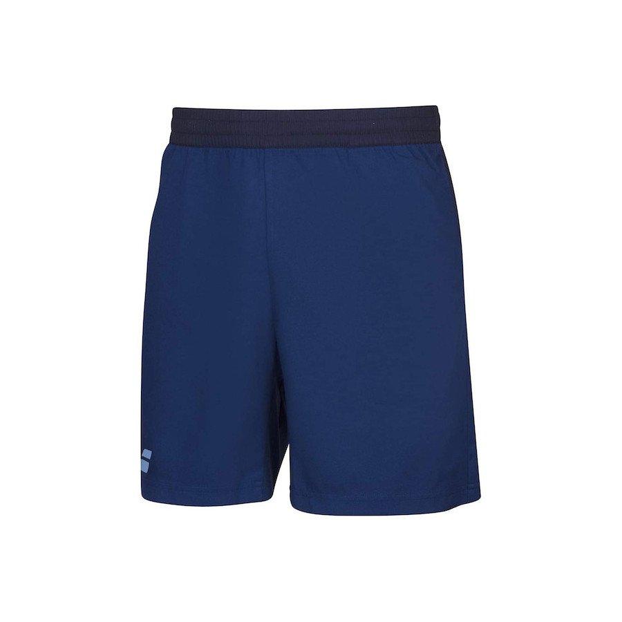 Babolat Tennis Apparel – Men's Play Tennis Shorts (Blue)