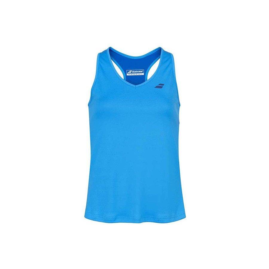 Babolat Tennis Clothing – Woman's Play Tennis Tank Top (Blue)