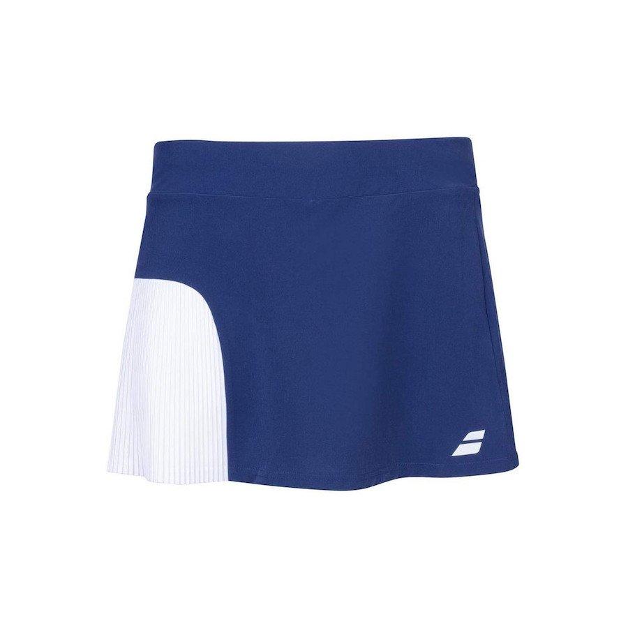 Babolat Tennis Clothing – Women's Compete Tennis Skirt (Blue)