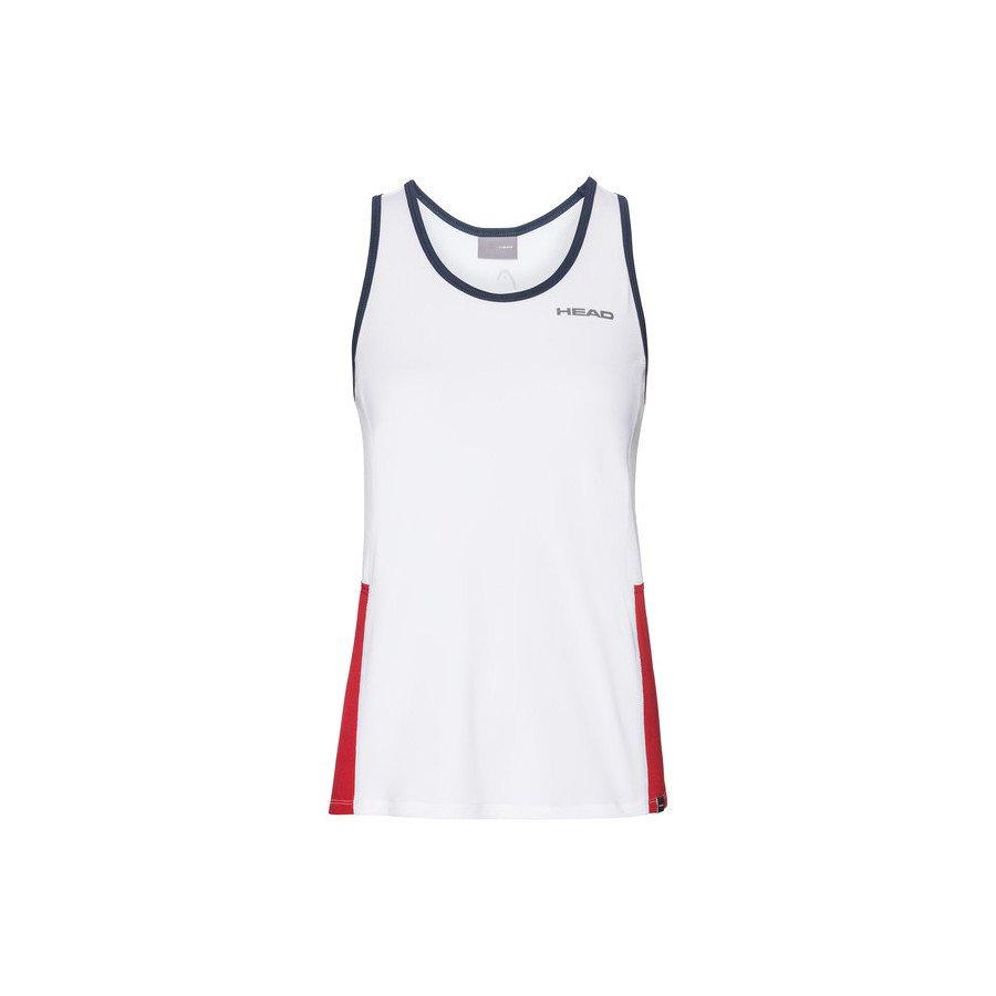 Head Tennis Clothing – CLUB Tank Top (white)