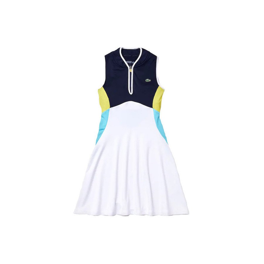 Lacoste Tennis Outfits – Women's Lacoste SPORT Breathable Stretch Tank Top Tennis Dress