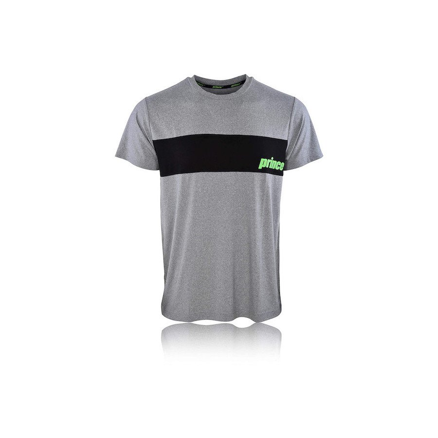 Prince Tennis Apparel – T-shirt (grey)