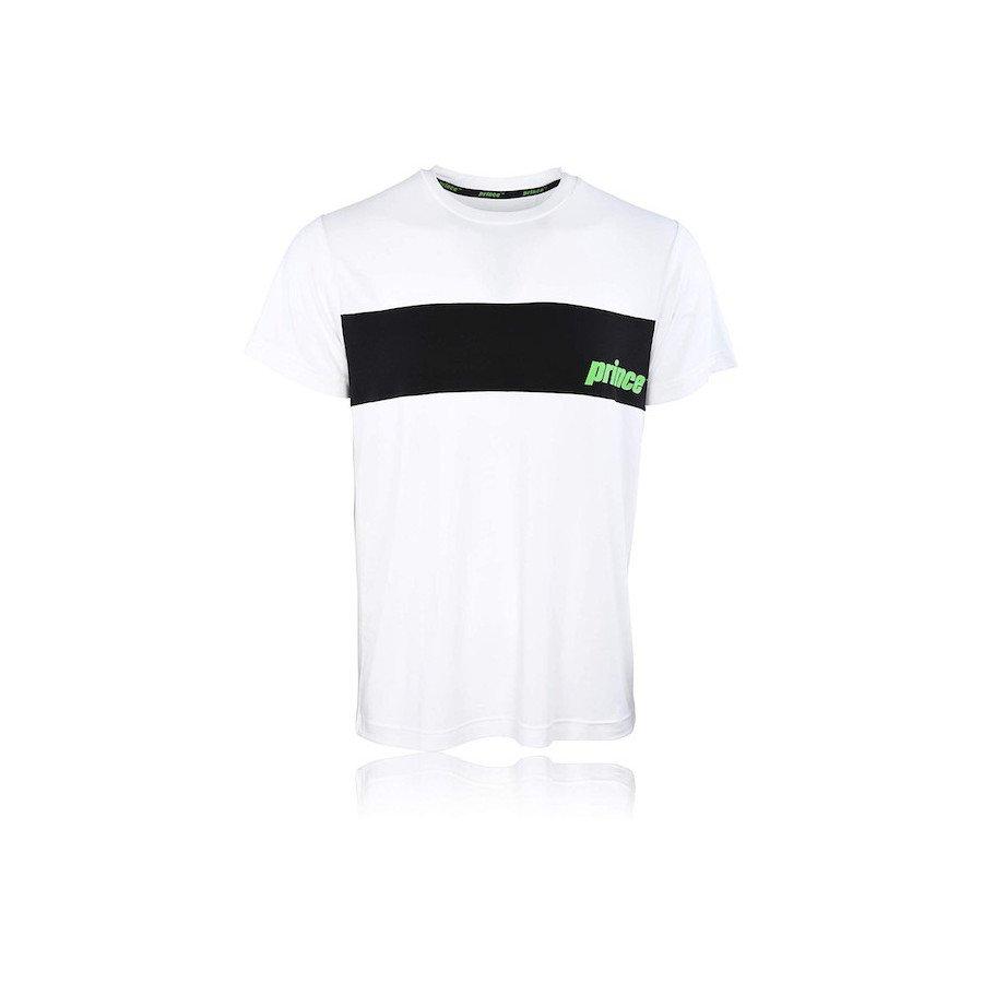 Prince Tennis Apparel – T-shirt (white)