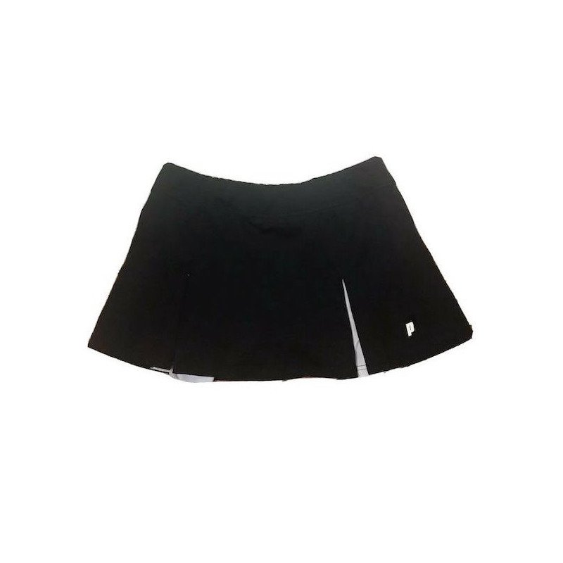 Prince Tennis Clothing – Tennis Skort (Black & White) Polyester