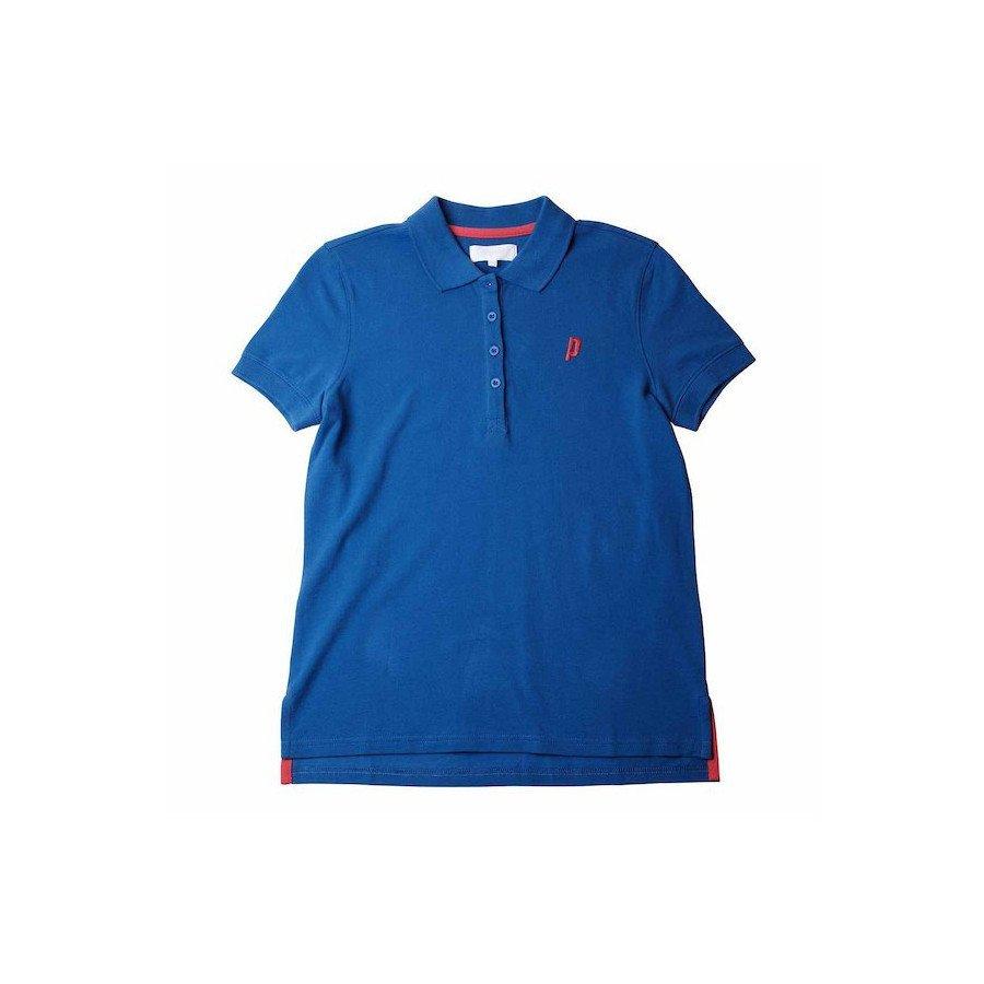 Prince Tennis Clothing – Women's Blue Court Polo