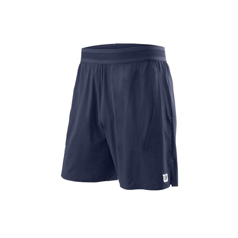 Wilson Tennis Apparel – Men's UL Kaos 7 Tennis Short (Blue)