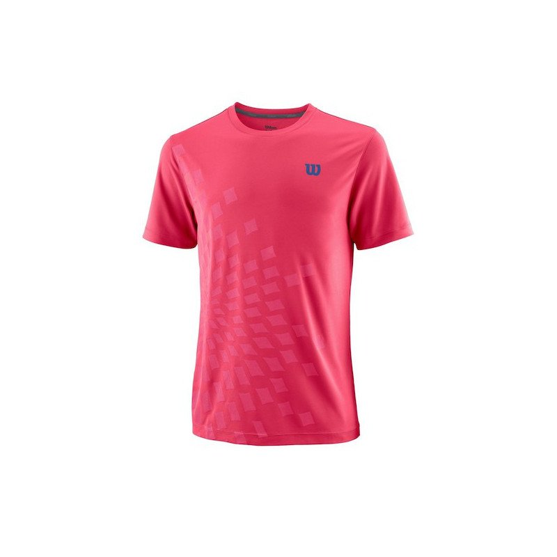 Wilson Tennis Apparel – Men's UWII Aperta Crew Tennis Shirt