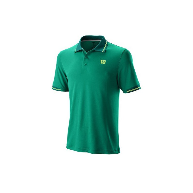 Wilson Tennis Apparel – Tennis Shirt (2019 Men's Star Tipped Polo)