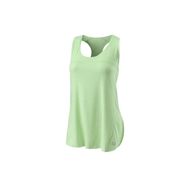 Wilson Tennis Clothing – Women's UL Kaos Tank (Green)