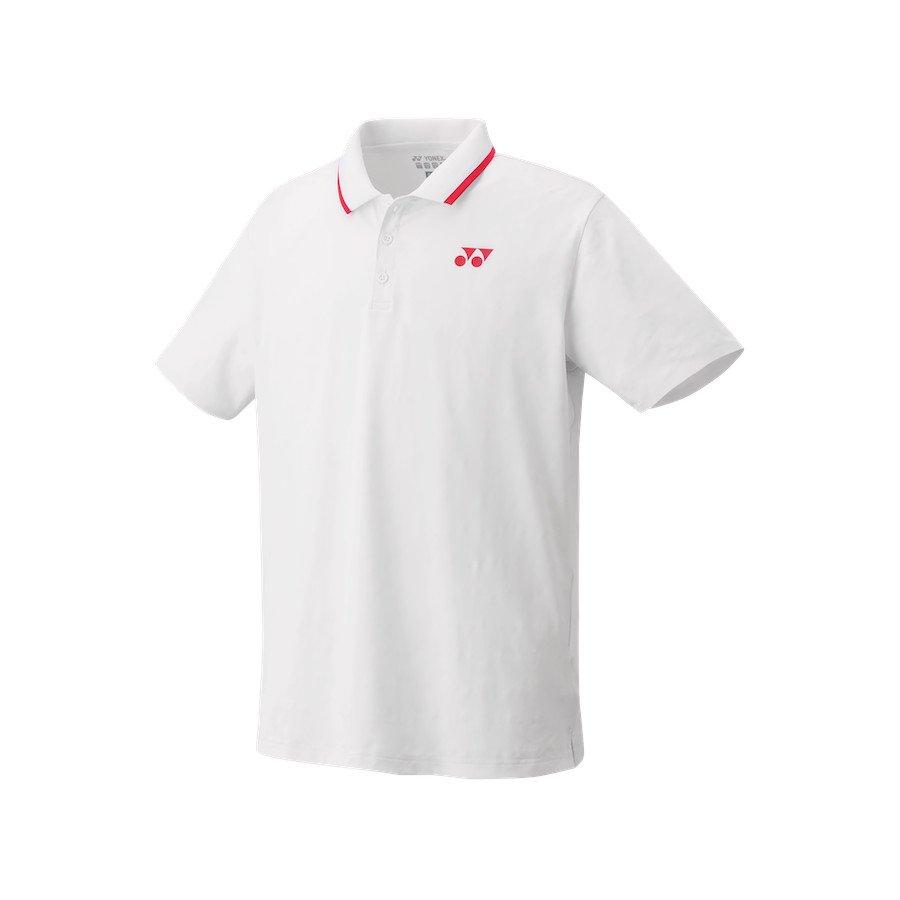 Yonex Tennis Apparel – Men's Polo Shirt (Slim Fit) [white]