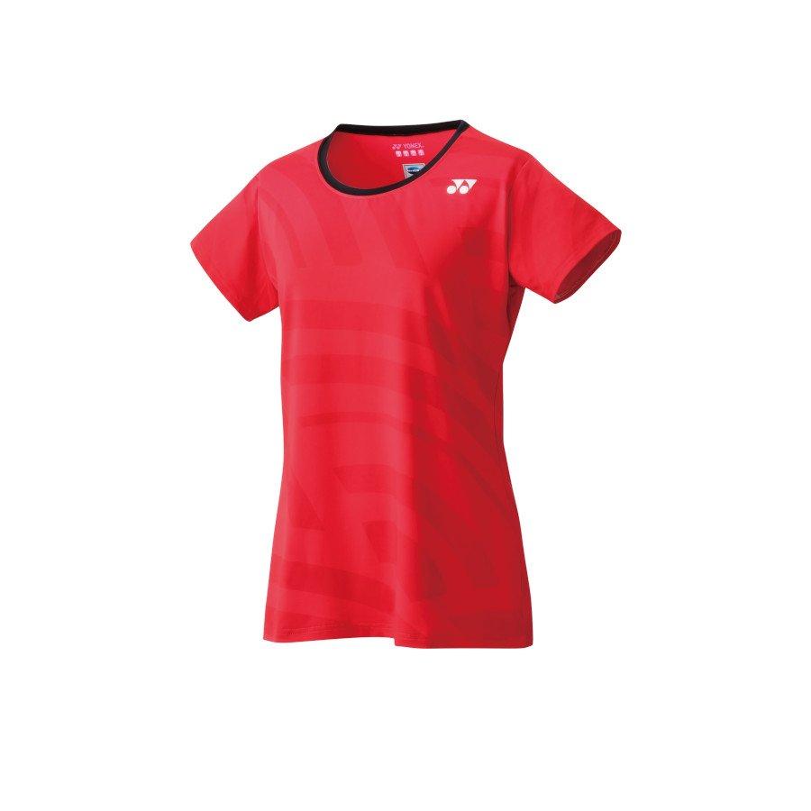 Yonex Tennis Clothing – Women's Crew Neck Shirt (flash red)