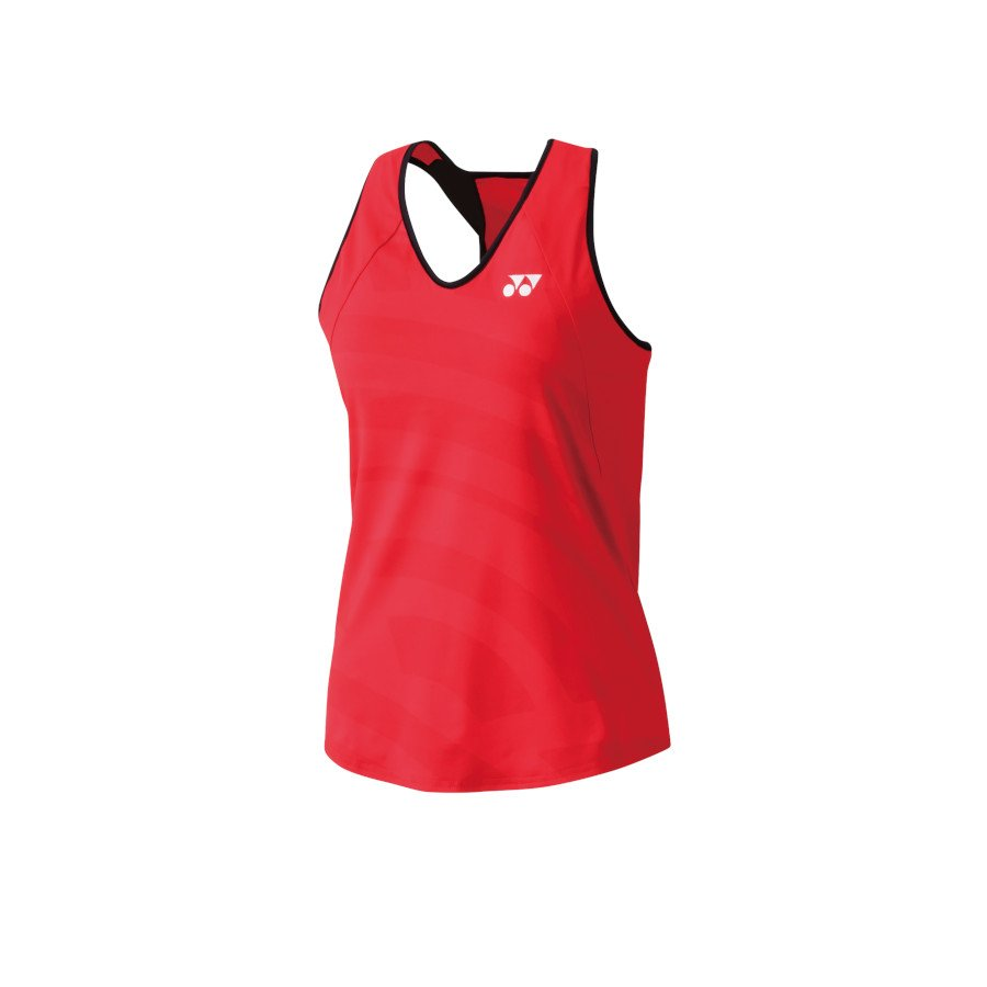 Yonex Tennis Clothing – Women's Tank with Inner Bra (flash red)