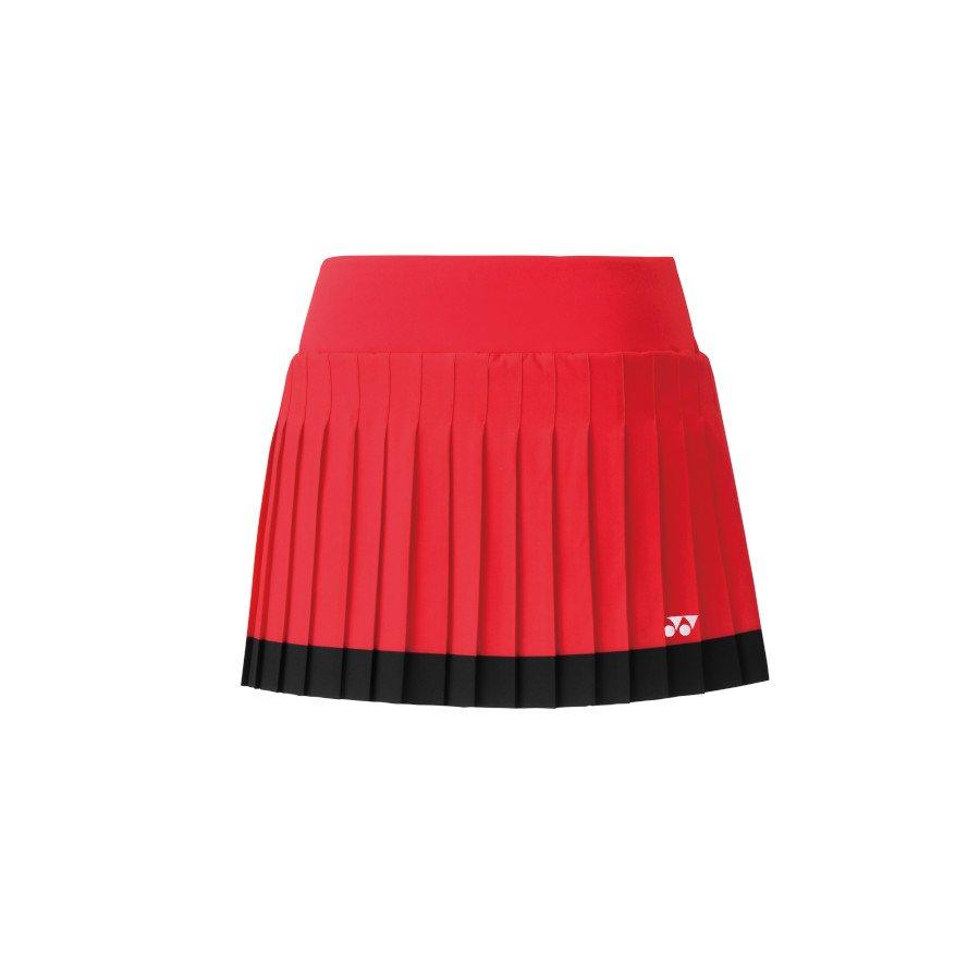 Yonex Tennis Clothing – Women's Tennis Skort with Inner Short (flash red)