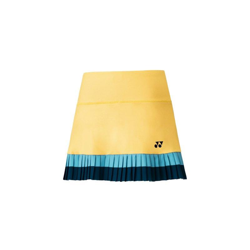 Yonex Tennis Clothing – Women's Tennis Skort with Inner Short (soft yellow)