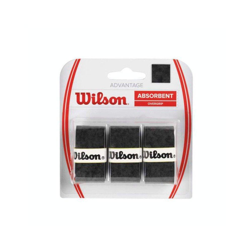 Wilson Tennis Accessories – Advantage Overgrip (3 Packs)