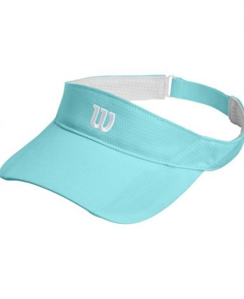 Wilson Tennis Accessories – Rush Knit Visor Ultralight (Blue)