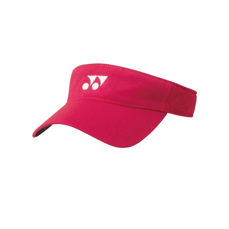 Yonex Tennis Accessories – Visor (flash red)