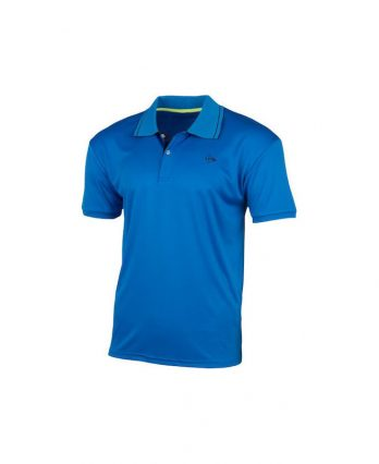 Dunlop MEN'S POLO CLUB LINE Tennis Shirt (blue)
