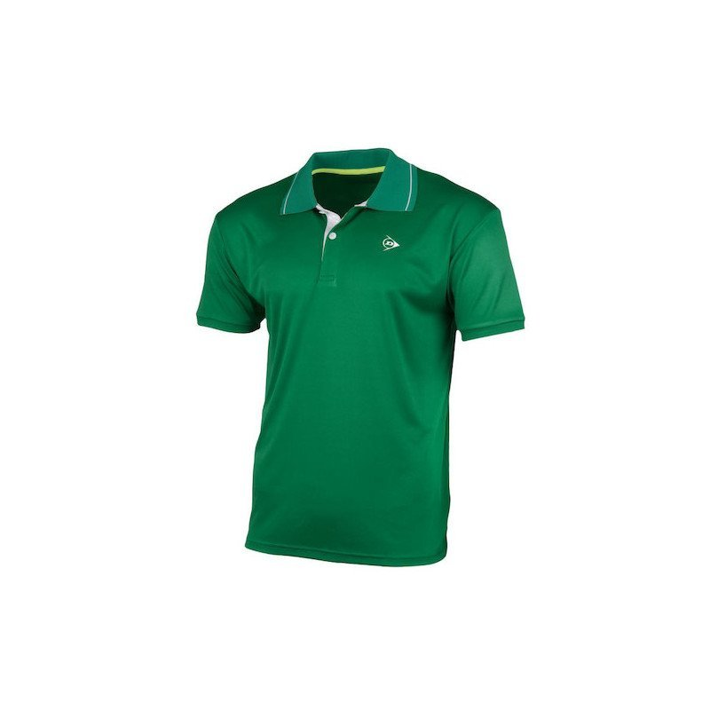 Dunlop MEN'S POLO CLUB LINE Tennis Shirt (green)
