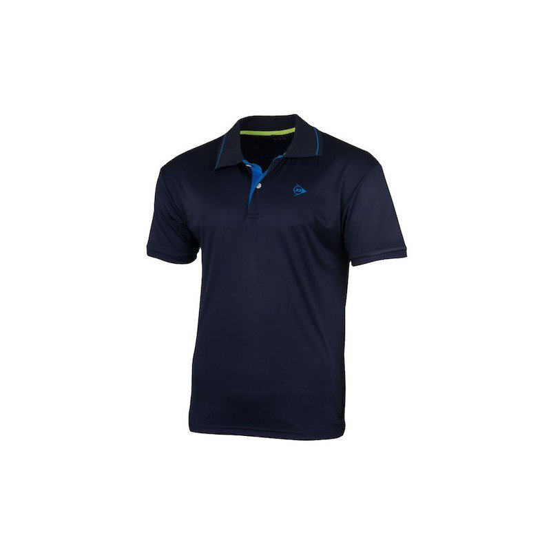 Dunlop MEN'S POLO CLUB LINE Tennis Shirt (navy)