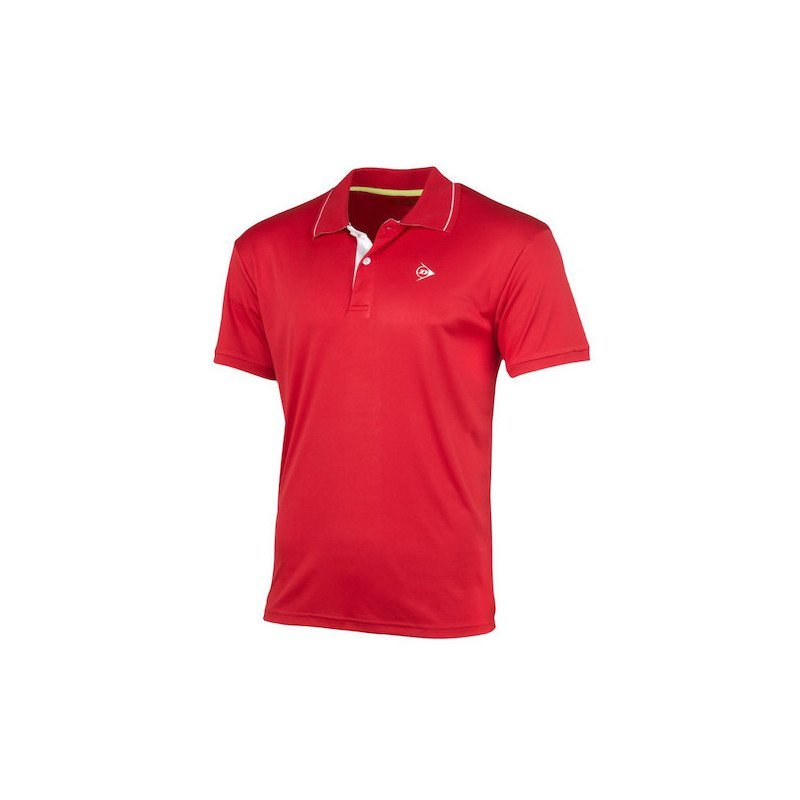 Dunlop MEN'S POLO CLUB LINE Tennis Shirt (red)