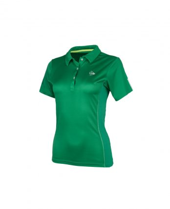 Dunlop Women's Club Collection Polo Tennis Shirt (Green)