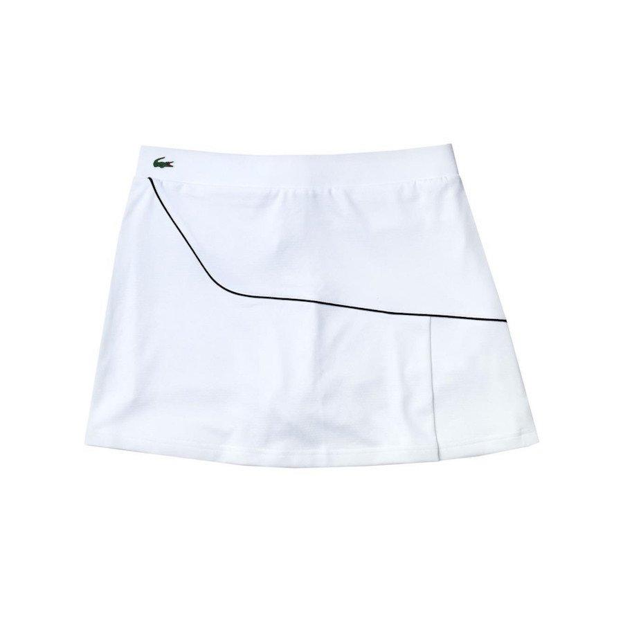 Lacoste Women's Sport Tennis Skirt (White)