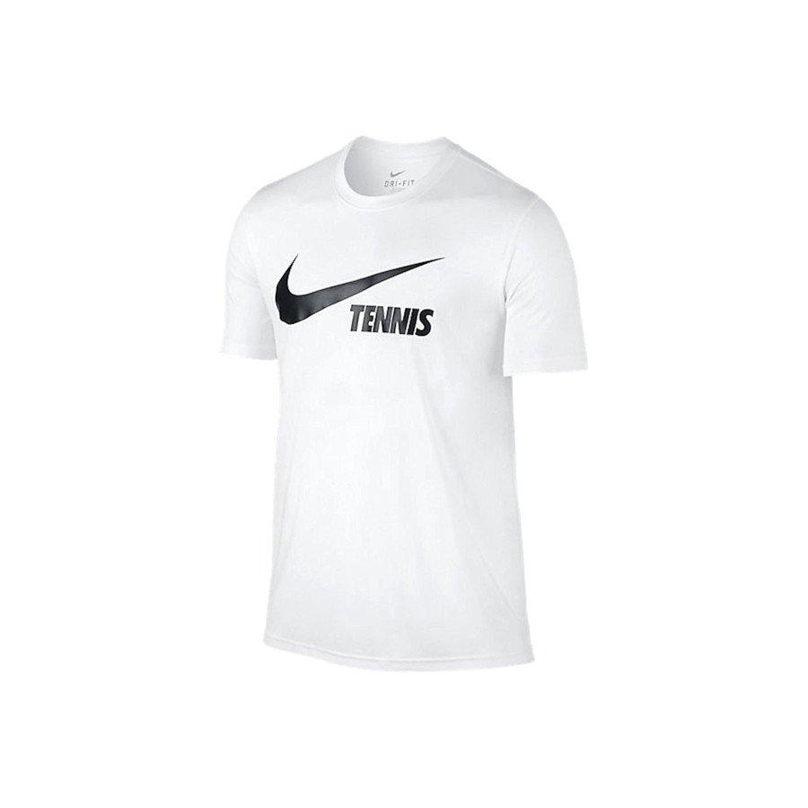 Nike Men's Swoosh Tennis T-Shirt (white)