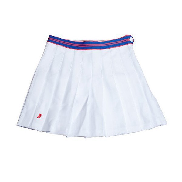 Prince White Attune Tennis Skirt