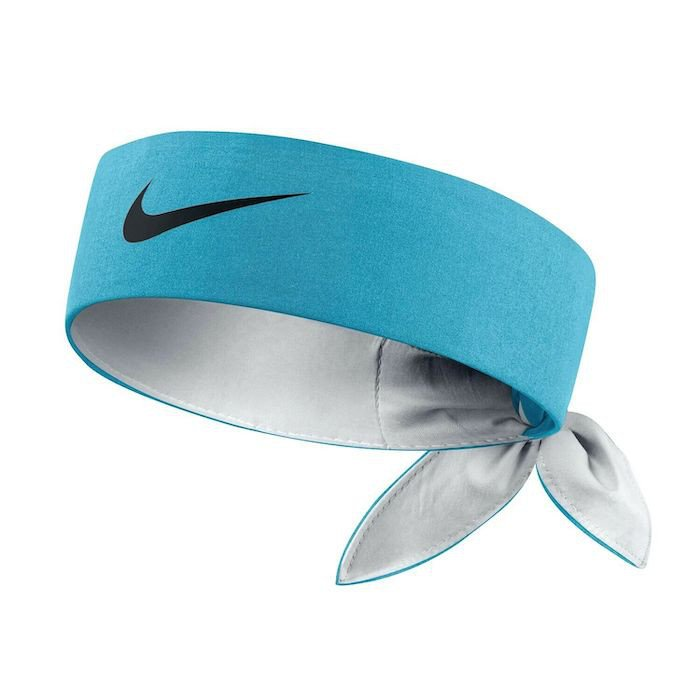 Tennis Headband – Nike Tennis Short Head Tie (Omega Blue)