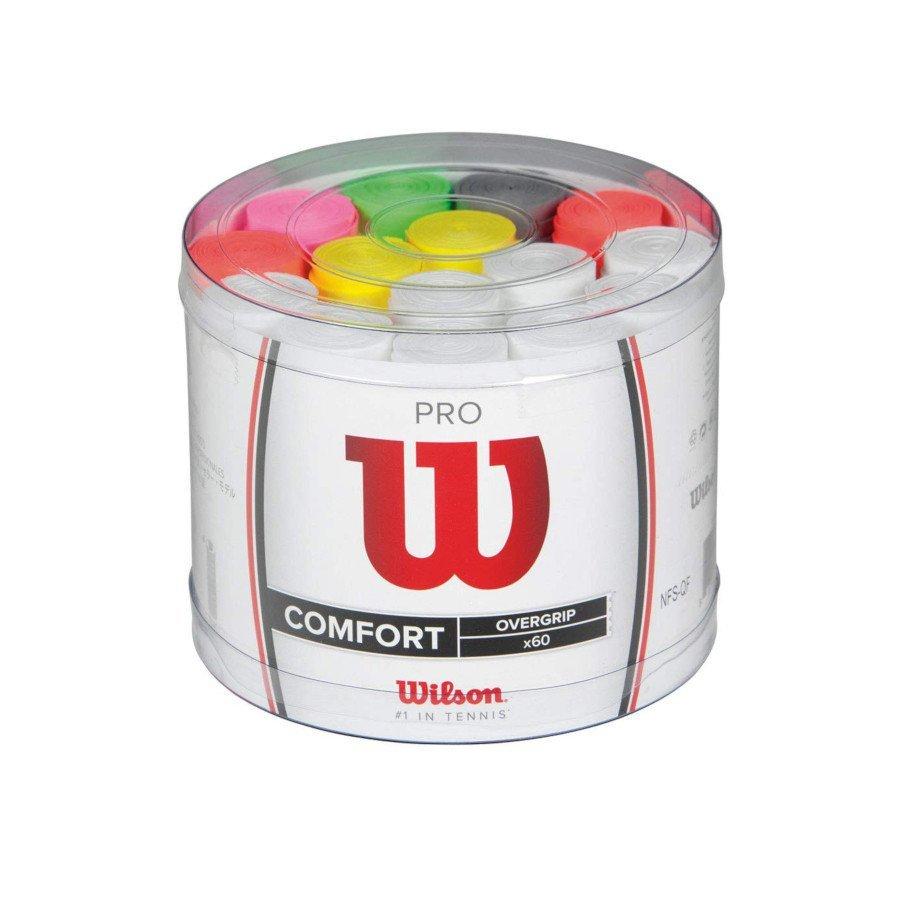 Tennis Overgrips – Wilson Wilson WRZ401800 Tennis Grips Pro Overgrip Bucket (60)