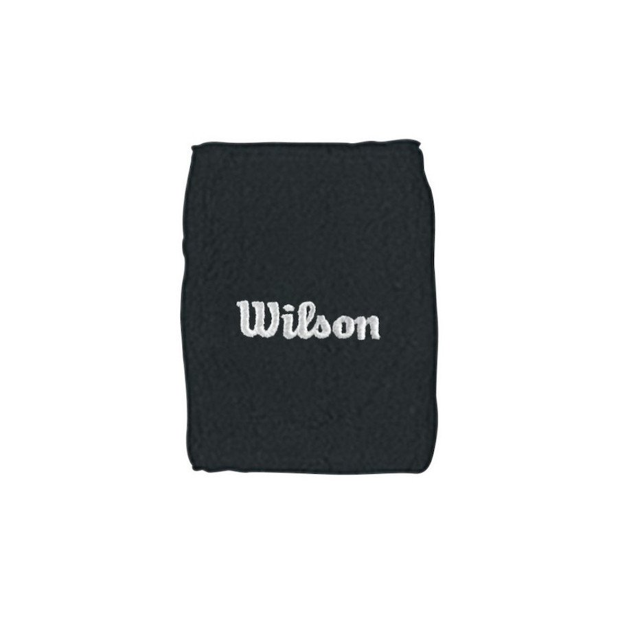 Tennis Wristband – Wilson Double (black)