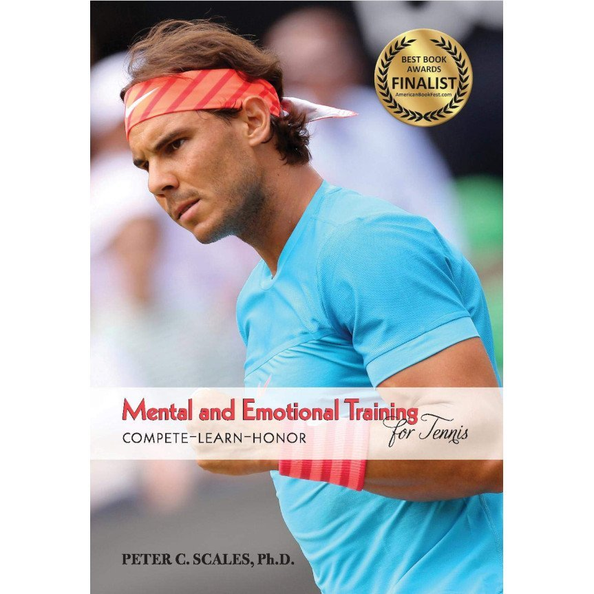Tennis book titled 'Mental & Emotional Training'