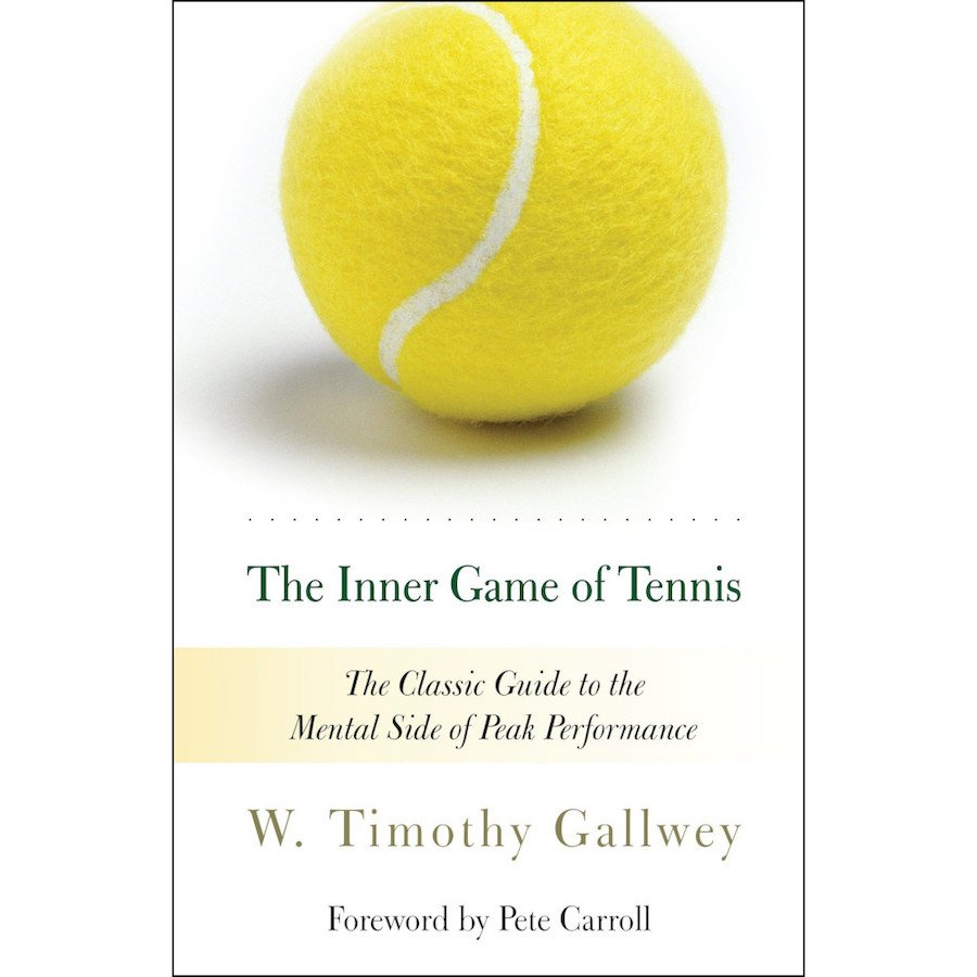 Tennis book titled 'The Inner Game of Tennis- The Classic Guide to the Mental Side of Peak Performance'