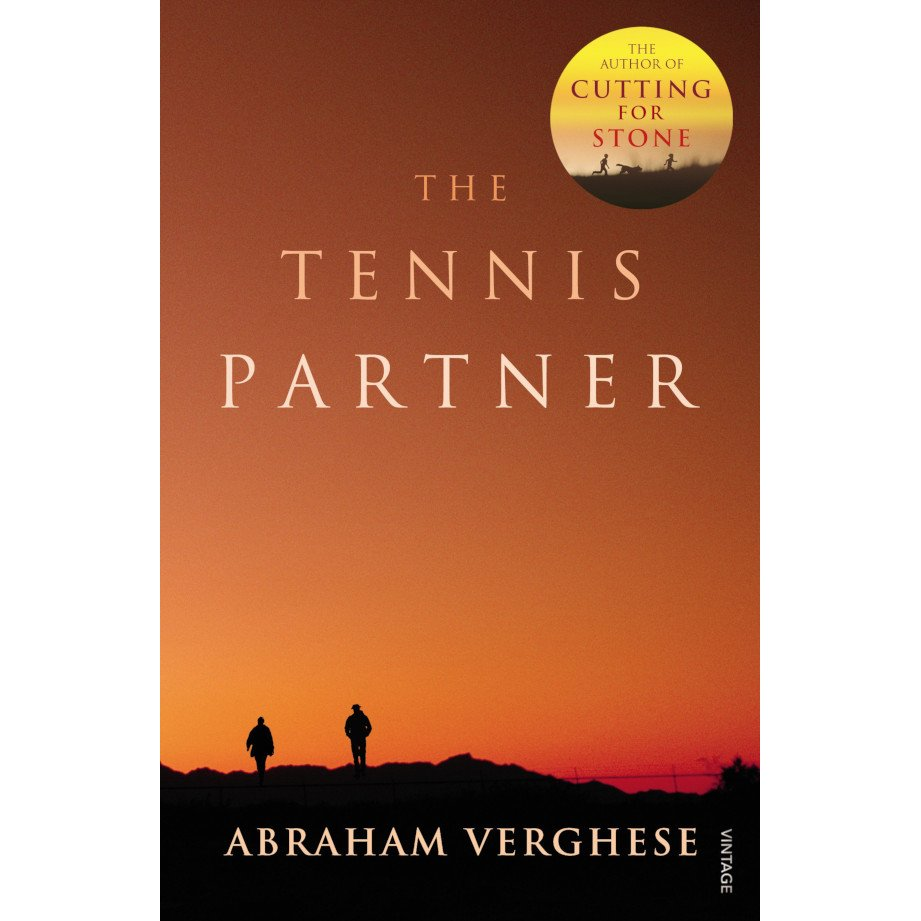 Tennis book titled 'The Tennis Partner'