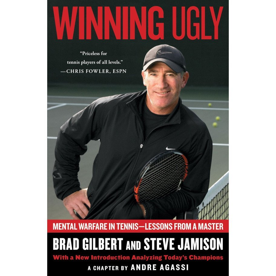 Tennis book titled 'Winning Ugly'