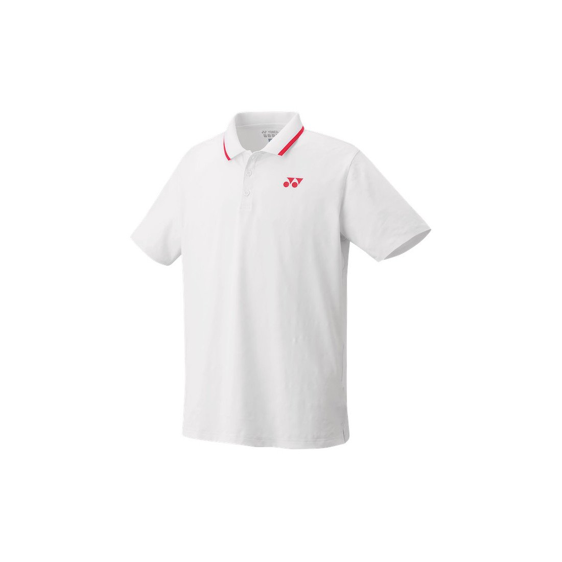 Yonex Men's Polo Tennis Shirt (Slim Fit) [white]