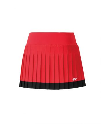 Yonex Tennis Skort with Inner Short (flash red)