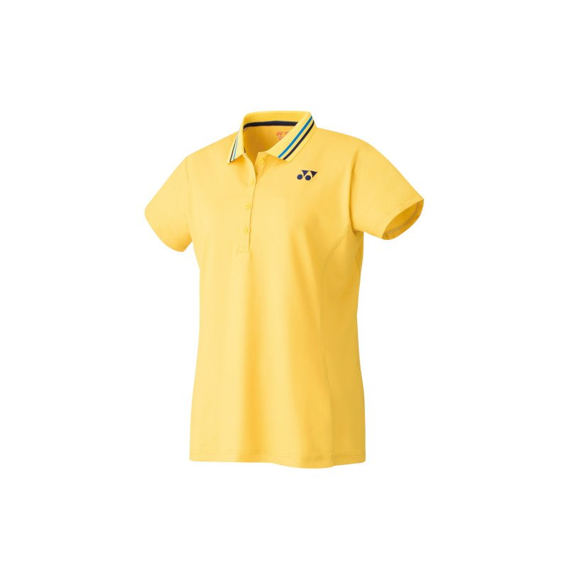 Yonex Women's Polo Tennis Shirt (soft yellow)